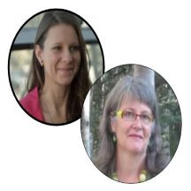 Alison Hancox and Stephanie Krammer